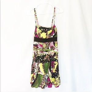 NWT BROWN FLORAL DRESS